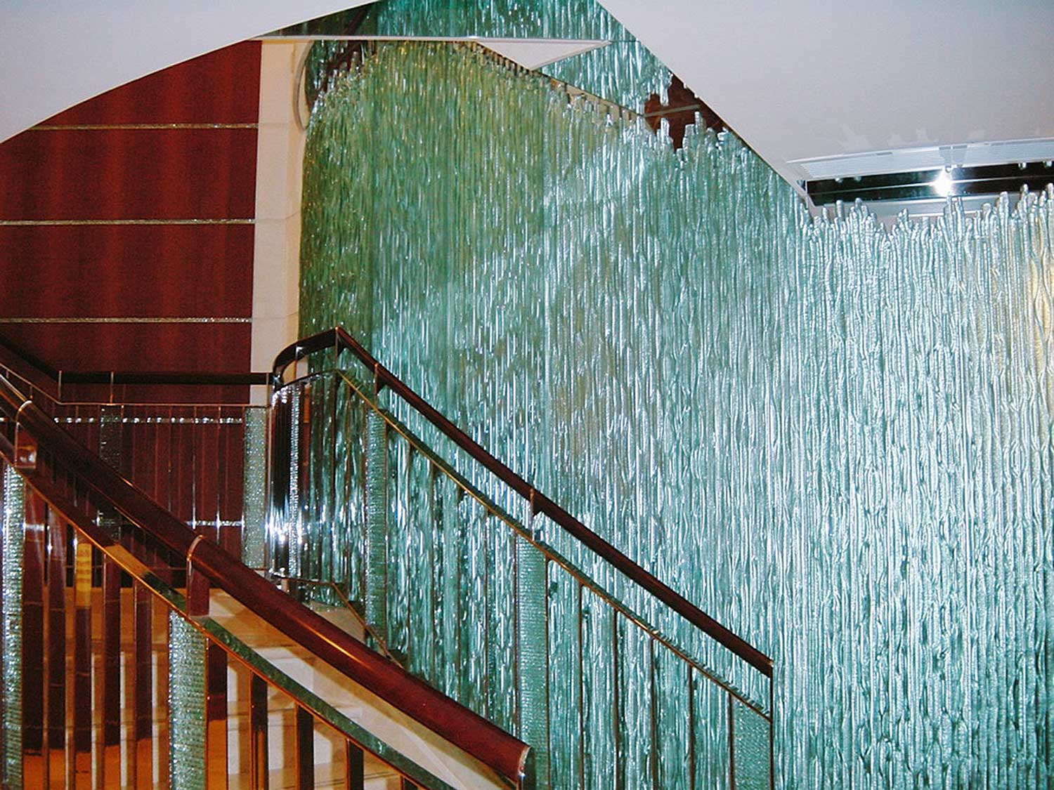 GlassStax handrail staircase