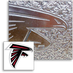 Jockimo AAG Cast Atlanta Falcons logo