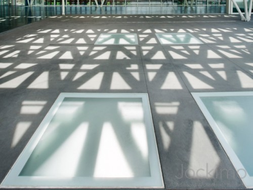 aspen art museum glass flooring