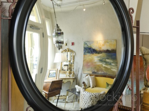 fisheye framedmirror side